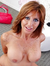 red hair milf porn Juicy Tits Redhead Milf Spreads Legs pictures.